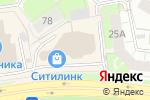 Схема проезда до компании Админ Сервис в Перми