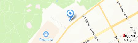 Автопилот на карте Перми
