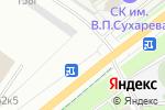 Схема проезда до компании Auto Brand в Перми