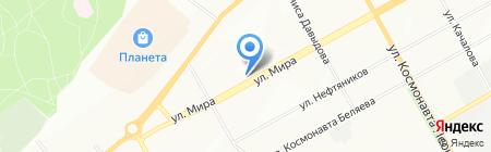 МиР на карте Перми