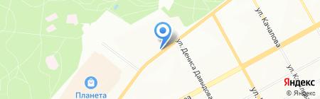 У Ипподрома на карте Перми