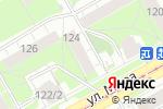 Схема проезда до компании Рубин в Перми