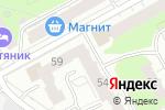 Схема проезда до компании Интрейд-Консалтинг в Перми