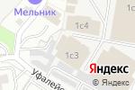 Схема проезда до компании Комус-Кама в Перми