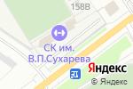 Схема проезда до компании СДЮСШОР по футболу г. Перми в Перми