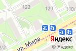 Схема проезда до компании Вера в Перми