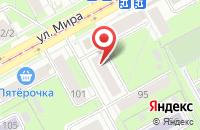 Схема проезда до компании Ветеран в Перми