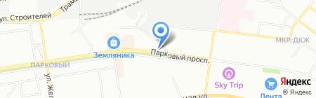 ВекоДом на карте Перми