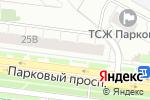 Схема проезда до компании Кухни Кристина в Перми