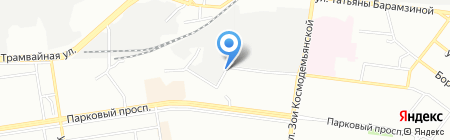 Партнер Консалтинг на карте Перми