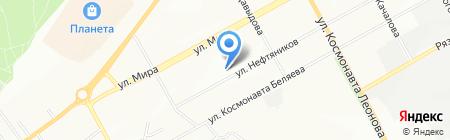 Детский сад №244 на карте Перми