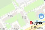 Схема проезда до компании ААА ТРЕЙДСНАБ в Перми