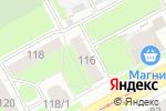 Схема проезда до компании Кадастровая фирма в Перми