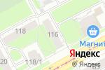 Схема проезда до компании СпецМастерСтрой в Перми