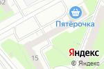 Схема проезда до компании Твоя квартира в Перми