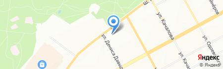 Ангор на карте Перми