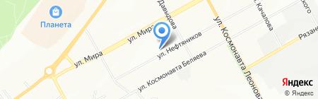 Средняя общеобразовательная школа №108 на карте Перми