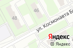 Схема проезда до компании Беляевский в Перми