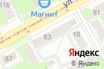 Схема проезда до компании АКИБ Почтобанк в Перми