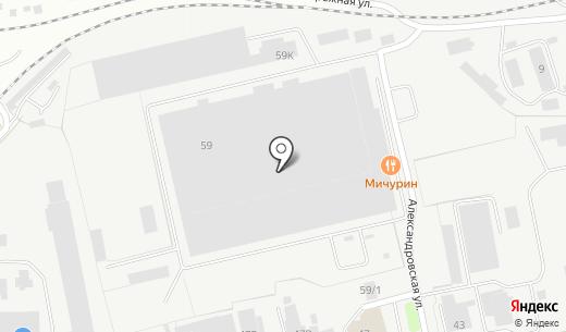 Центр Движения. Схема проезда в Перми