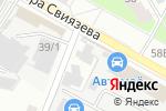 Схема проезда до компании Scorpion в Перми