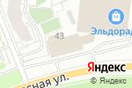 Схема проезда до компании ТехЭнергоСервис в Перми