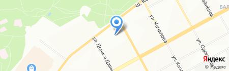 Arenta на карте Перми