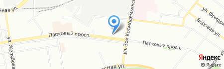 Магазин женской одежды на карте Перми