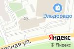 Схема проезда до компании Камена в Перми