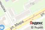 Схема проезда до компании НеVаляшка в Перми