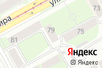Схема проезда до компании Семь нянь в Перми