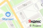 Схема проезда до компании Юла в Перми