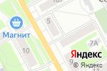 Схема проезда до компании Mersi в Перми