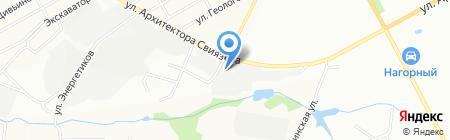 УРАЛ 2009 на карте Перми