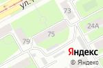 Схема проезда до компании Золотая шайба в Перми