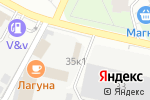 Схема проезда до компании Центр приема и продажи мебели в Перми