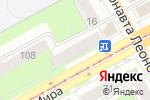 Схема проезда до компании Berkana-V в Перми