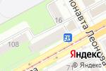 Схема проезда до компании Магазин верхней одежды в Перми