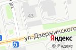 Схема проезда до компании Квин в Перми