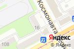 Схема проезда до компании Новые двери в Перми
