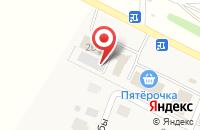Схема проезда до компании Магазин строительных материалов в Акбердино
