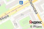 Схема проезда до компании Сильва в Перми