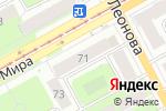 Схема проезда до компании Amelie в Перми