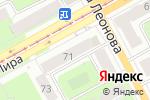 Схема проезда до компании Элегант в Перми