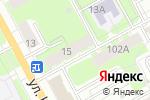 Схема проезда до компании Домофоны Перми в Перми