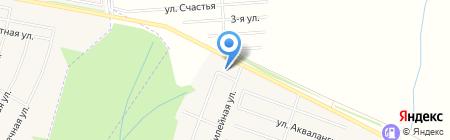 Банкомат АКБ МОСОБЛБАНК на карте Акбердино
