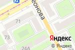 Схема проезда до компании Shendel в Перми