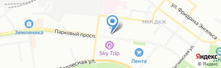 РоссТур на карте Перми