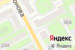 Схема проезда до компании Угол Атаки в Перми