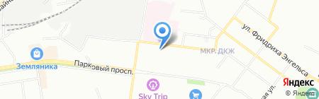 Yani на карте Перми